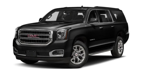 Yukon XL BLACK 2018 - SUV Rental Houston