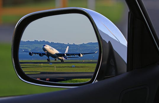leaving a car at the airport